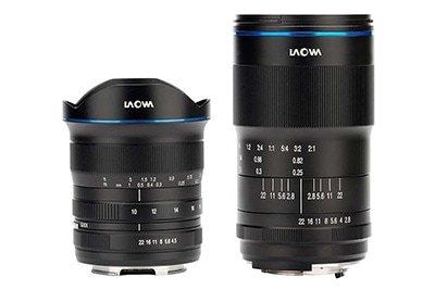 Venus Optics Laowa 10-18 Plus 100mm Lenses