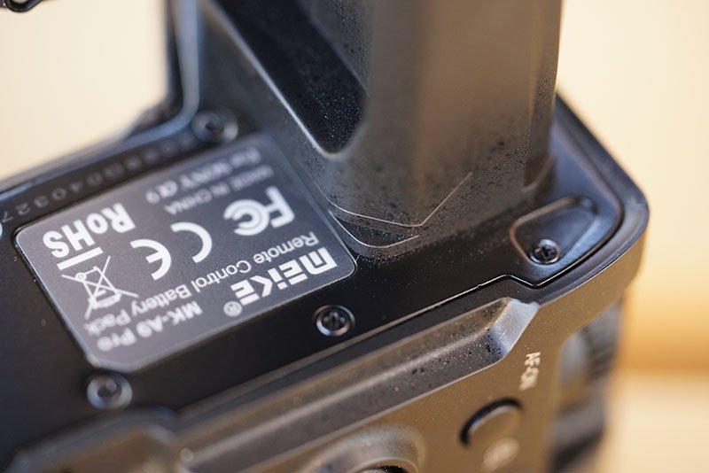 Meike MK-A9 Pro Battery Grip Rubber Seal