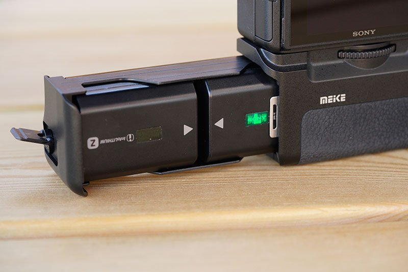 Meike MK-A9 Pro Battery Grip with Batteries