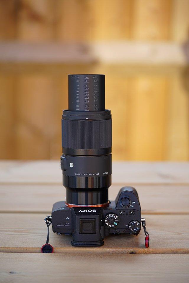 Sigma 70mm F2.8 DG Macro Art Sony E-mount Focus Barrel Extension