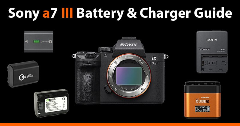 sony a7iii battery and charger guide