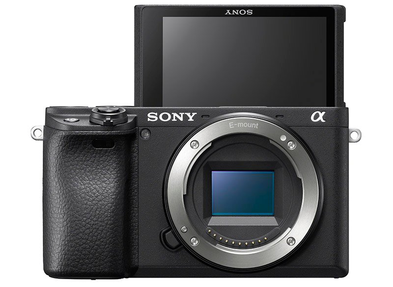 sony a6400 selfie screen