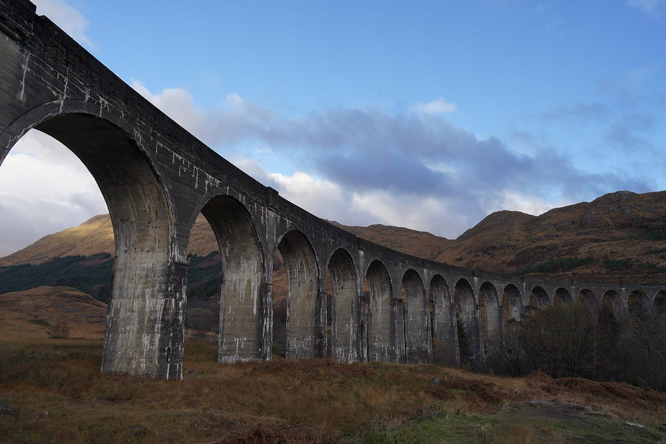 sony a7iii sample image glenfinnan viaduct