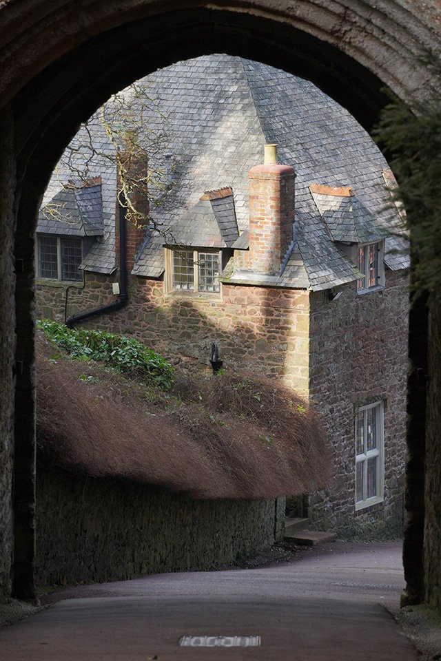 Sony a6400 with 18-135mm Lens Dunster Castle Gate