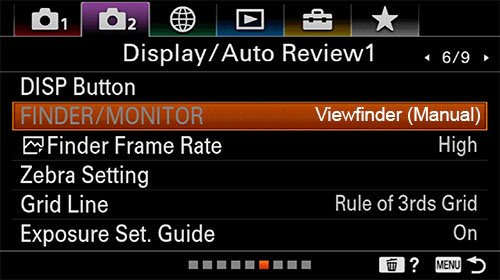 sony a6400 time-lapse setup interval display auto