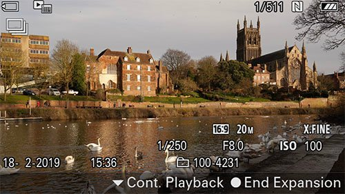 sony a6400 time-lapse setup interval playback expand