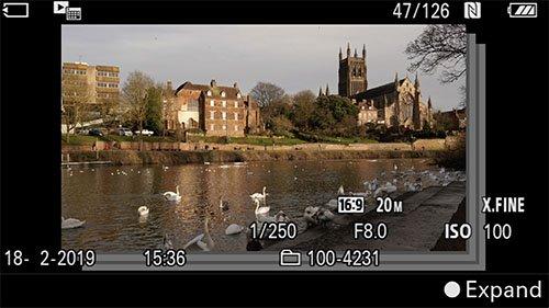 sony a6400 time-lapse setup interval playback