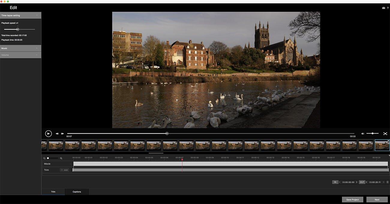 time-lapse play memories edit 1
