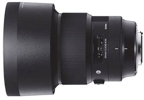 Sigma 105mm 1.4 DG HSM Art Lens for Sony E-mount