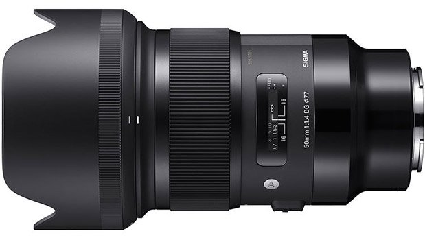 Sigma 50mm 1.4 DG HSM Art Lens for Sony E-mount