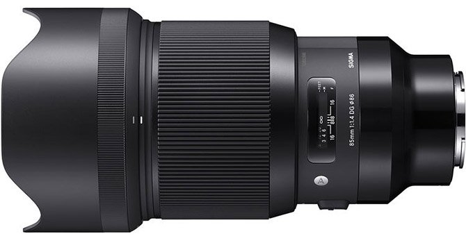 Sigma 85mm 1.4 DG HSM Art Lens for Sony E-mount
