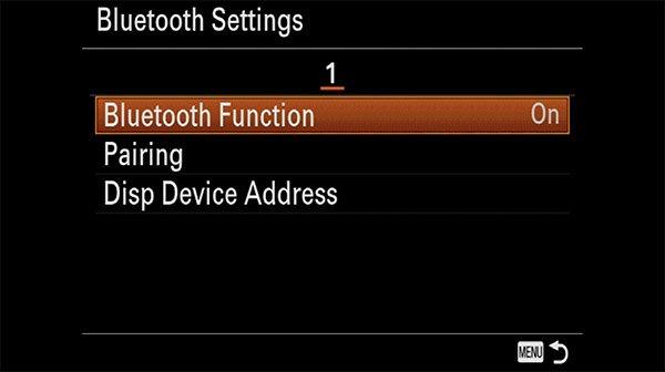 sony rmt-p1bt setup guide step 2