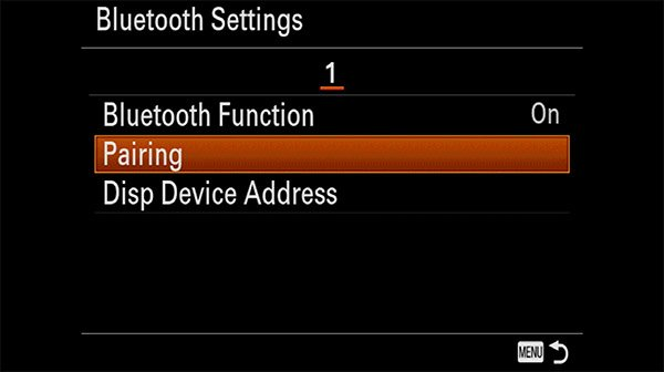 sony rmt-p1bt setup guide step 4