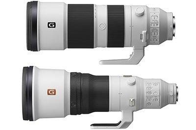 Sony Officially Announces FE 200-600mm F5.6-6.3 G + 600mm F4 GM Lenses