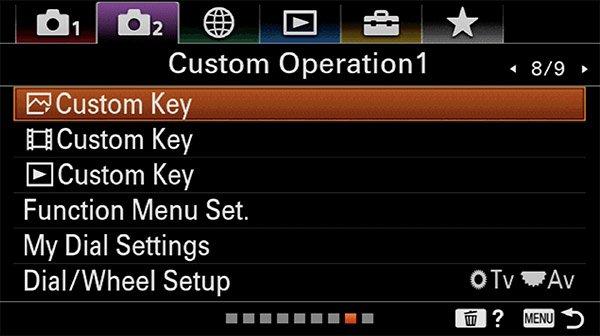 sony a6400 animal eye af custom key images