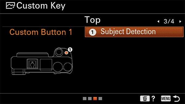 sony a6400 animal eye af custom button c1 subject detection