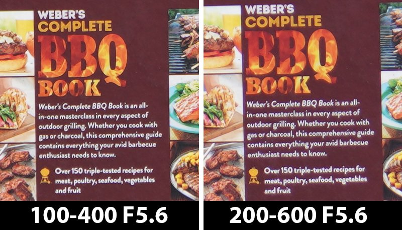 200mm comparison bbq book