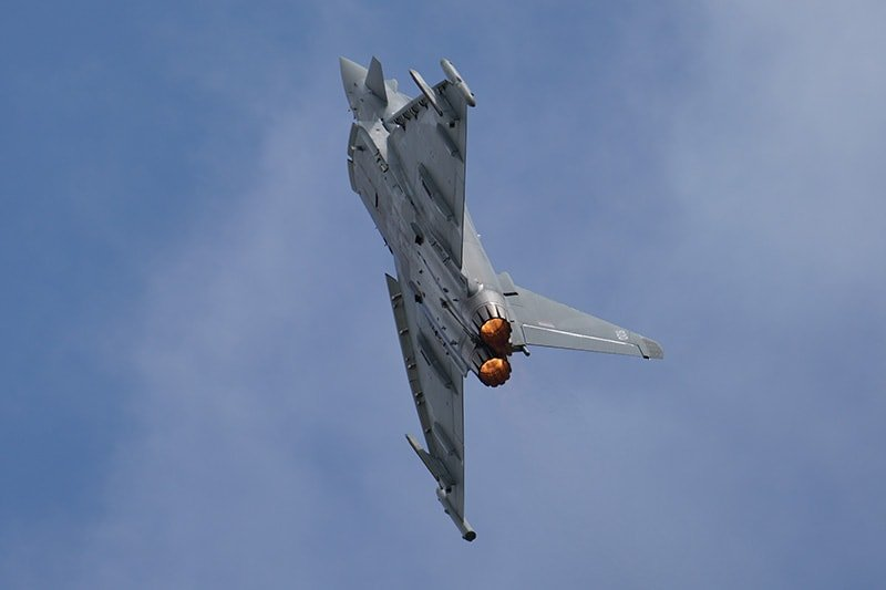 eurofighter shot with Sony FE 200-600