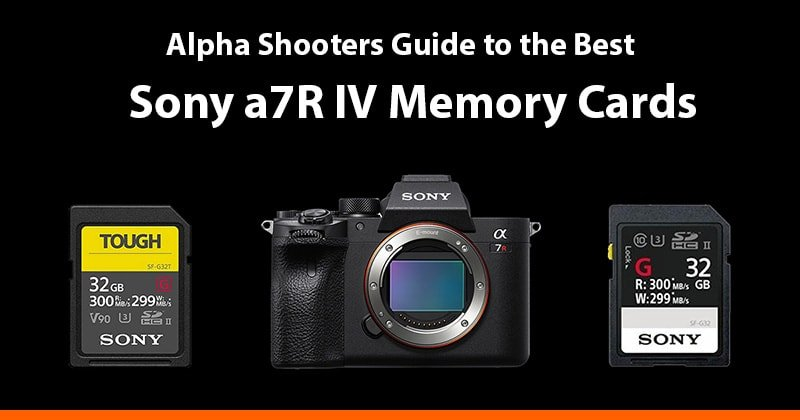 sony a7r iv memory cards