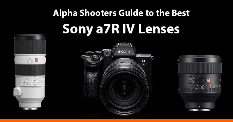 Best Sony a7R IV Lenses Guide