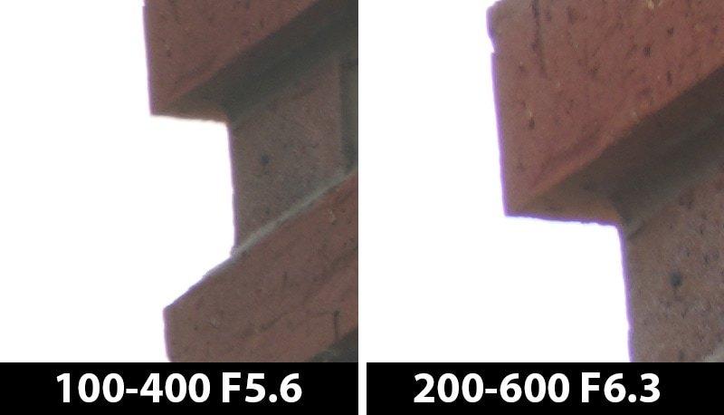 400mm vs 600mm ca off edge