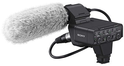 Sony XLR-K3M Digital XLR Adaptor Kit with Microphone