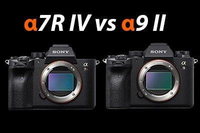 Sony a7R IV vs a9 II