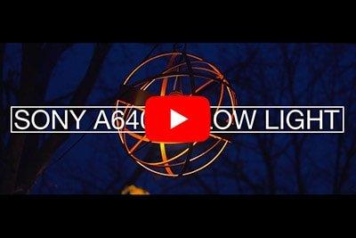 Sony a6400 + Sigma 30mm F1.4 Low Light Video