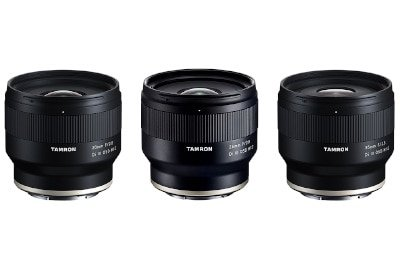 tamron 3 prime lenses