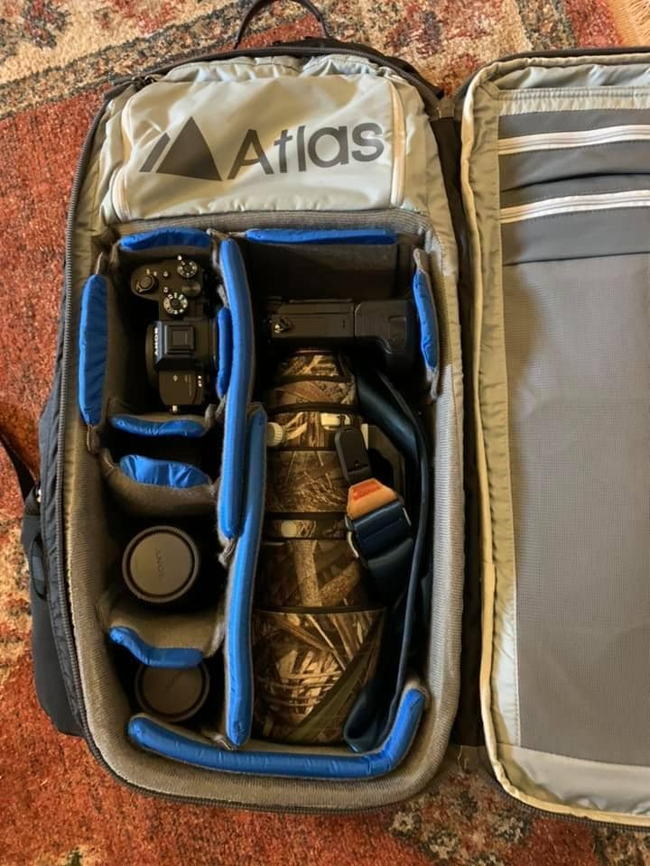 Atlas Adventure Pack with Sony 200-600 Inside