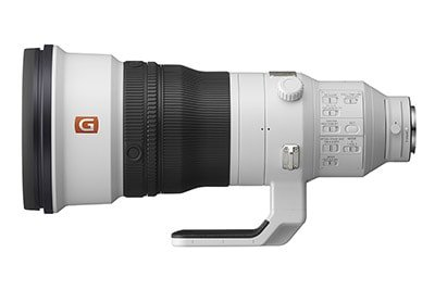 Sony 400mm F2.8 GM Lens Side View