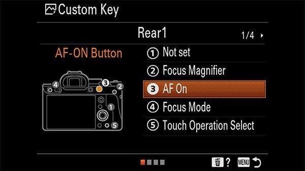 a7riv custom key af-on