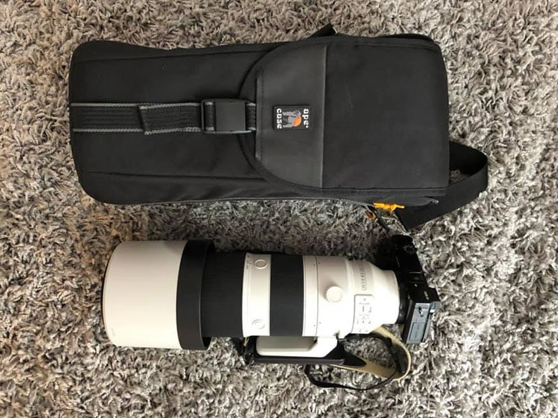 Ape Case ACPROLC18 Professional Large with Sony 200-600 Inside