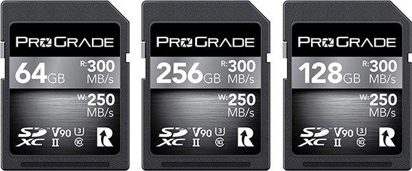 ProGrade V90 UHS-II Memor Cards
