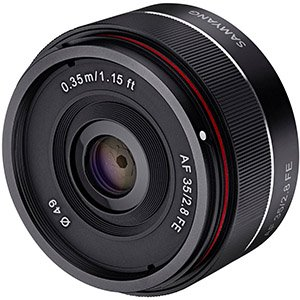 Rokinon / Samyang AF 35mm f/2.8 FE