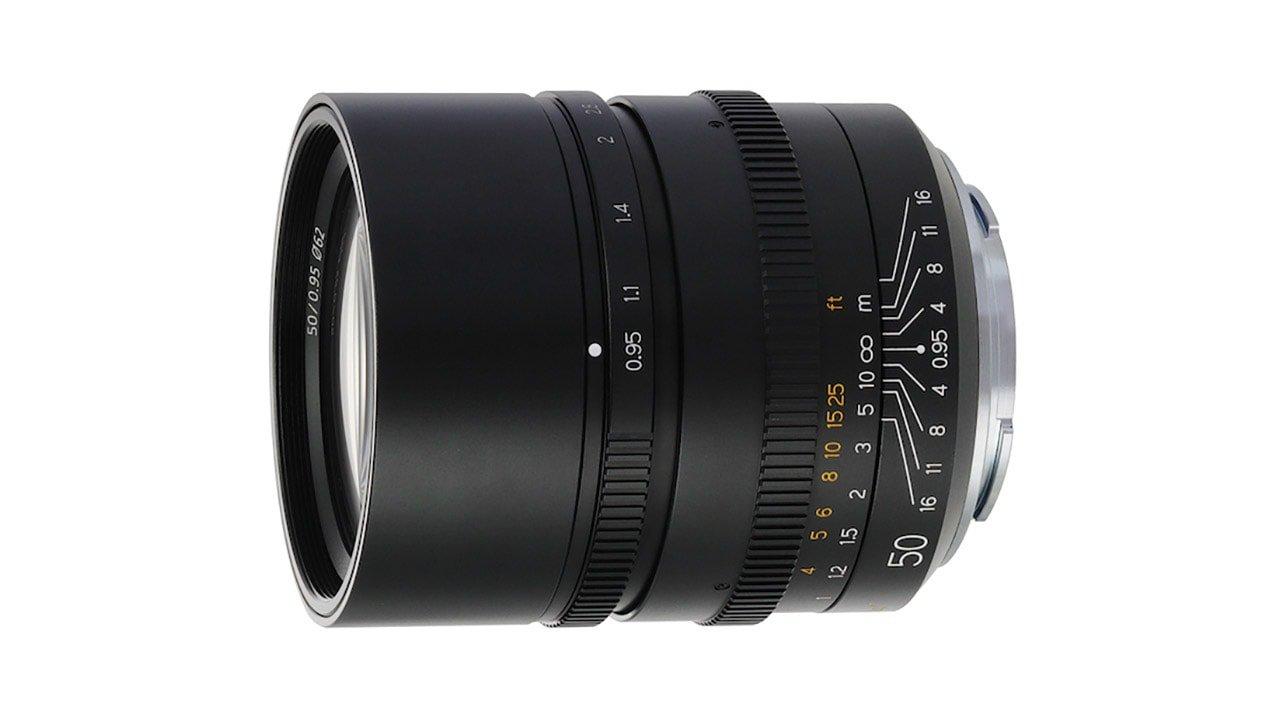 TTArtisan 50mm F0.95 Lens Sony E-mount