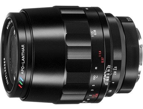 Voigtlander 110mm f2.5 Macro Apo-Lanthar Lens Sony FE