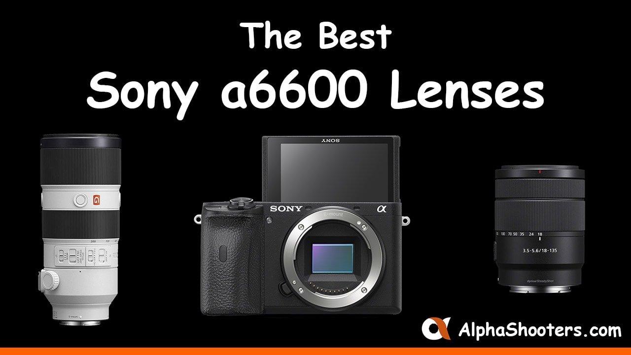 Sony a6600 Lenses