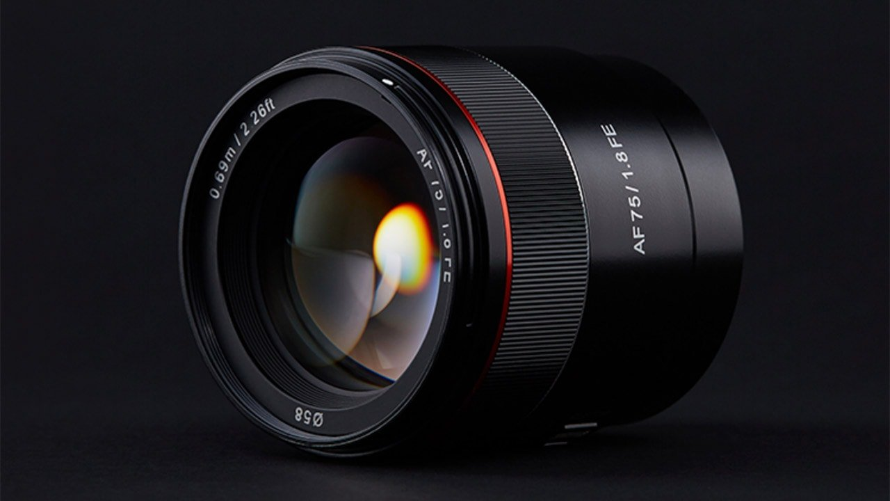 Samyang Announces AF 75mm F1.8 FE Lens
