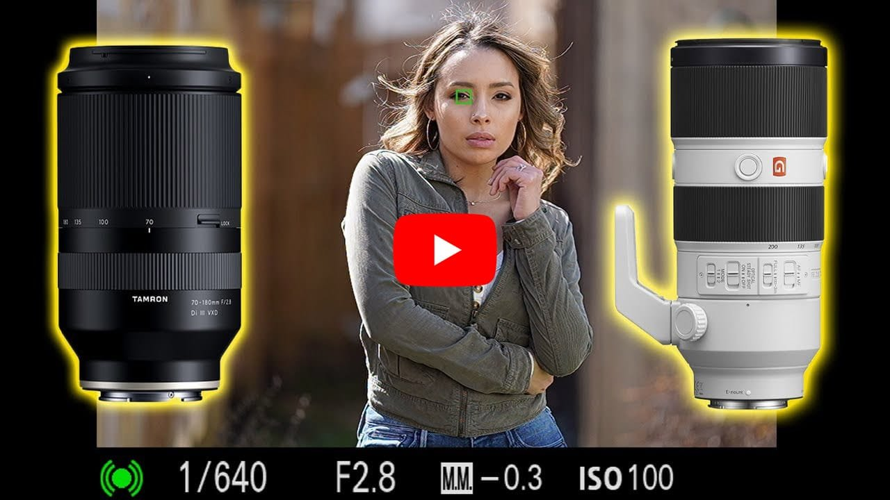 Tamron 70-180 F2.8 vs Sony 70-200 F2.8 GM