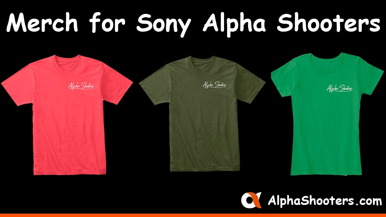 Sony Alpha Shooters Merchandise