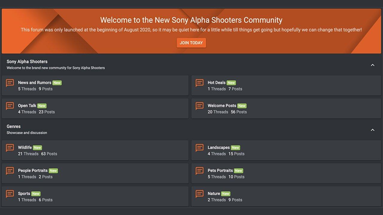 Sony Alpha Forums