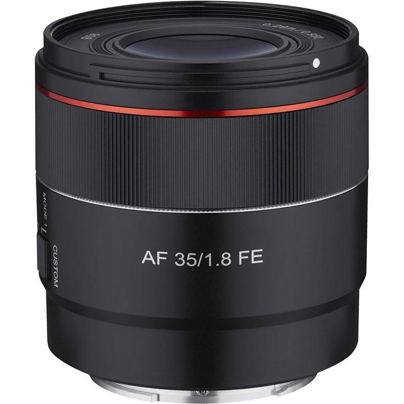 Samyang AF 35mm F1.8 FE Side