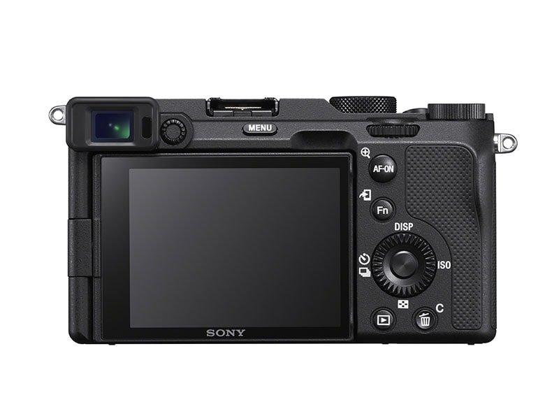 Sony a7C Black Rear