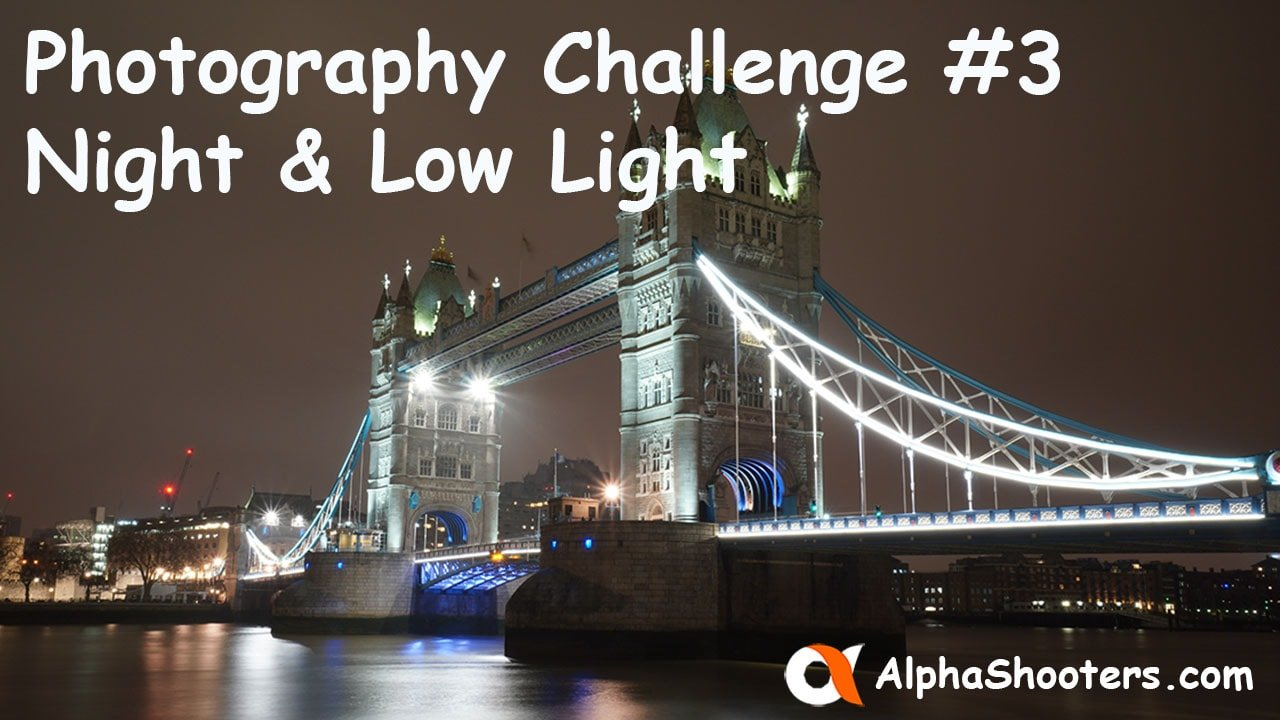 Photo Challenge 3 - Nighttime and Low Light