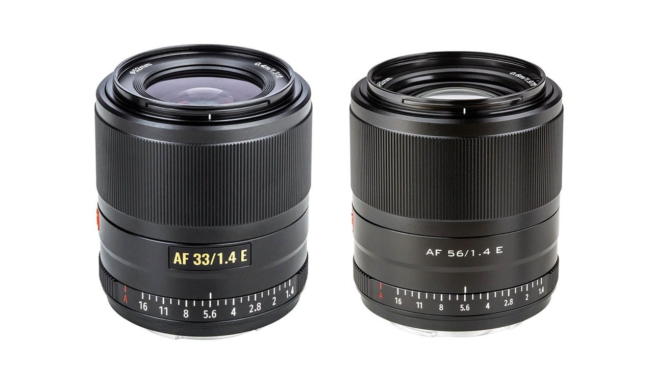 Viltrox 33mm F1.4 and 56mm F1.4 APS-C Lenses for Sony APS-C