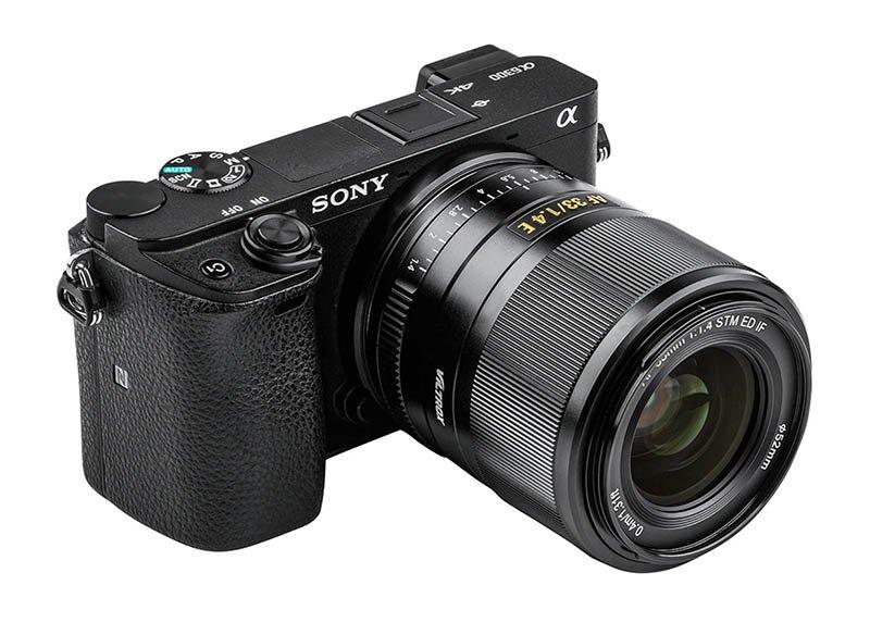 viltrox 33mm F1.4 sony a6300