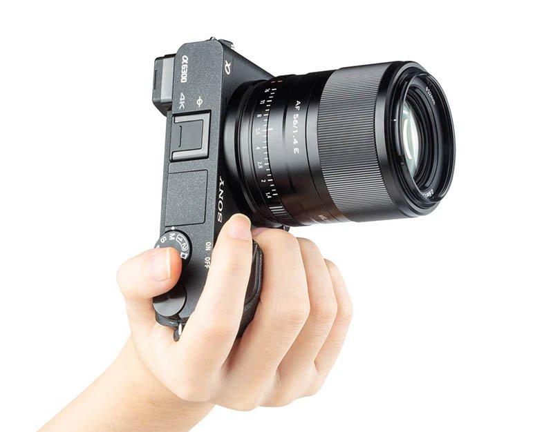 viltrox 56mm F1.4 sony a6300