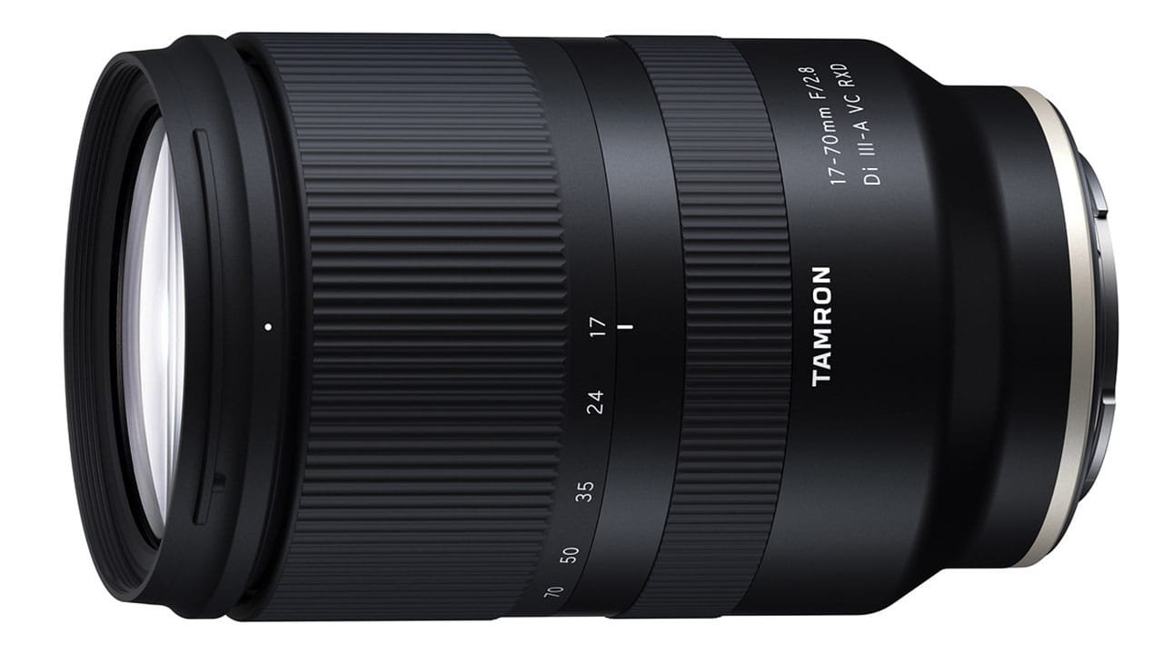 Tamron 17-70mm F2.8 Di III-A VC RXD lens for Sony E-mount APS-C