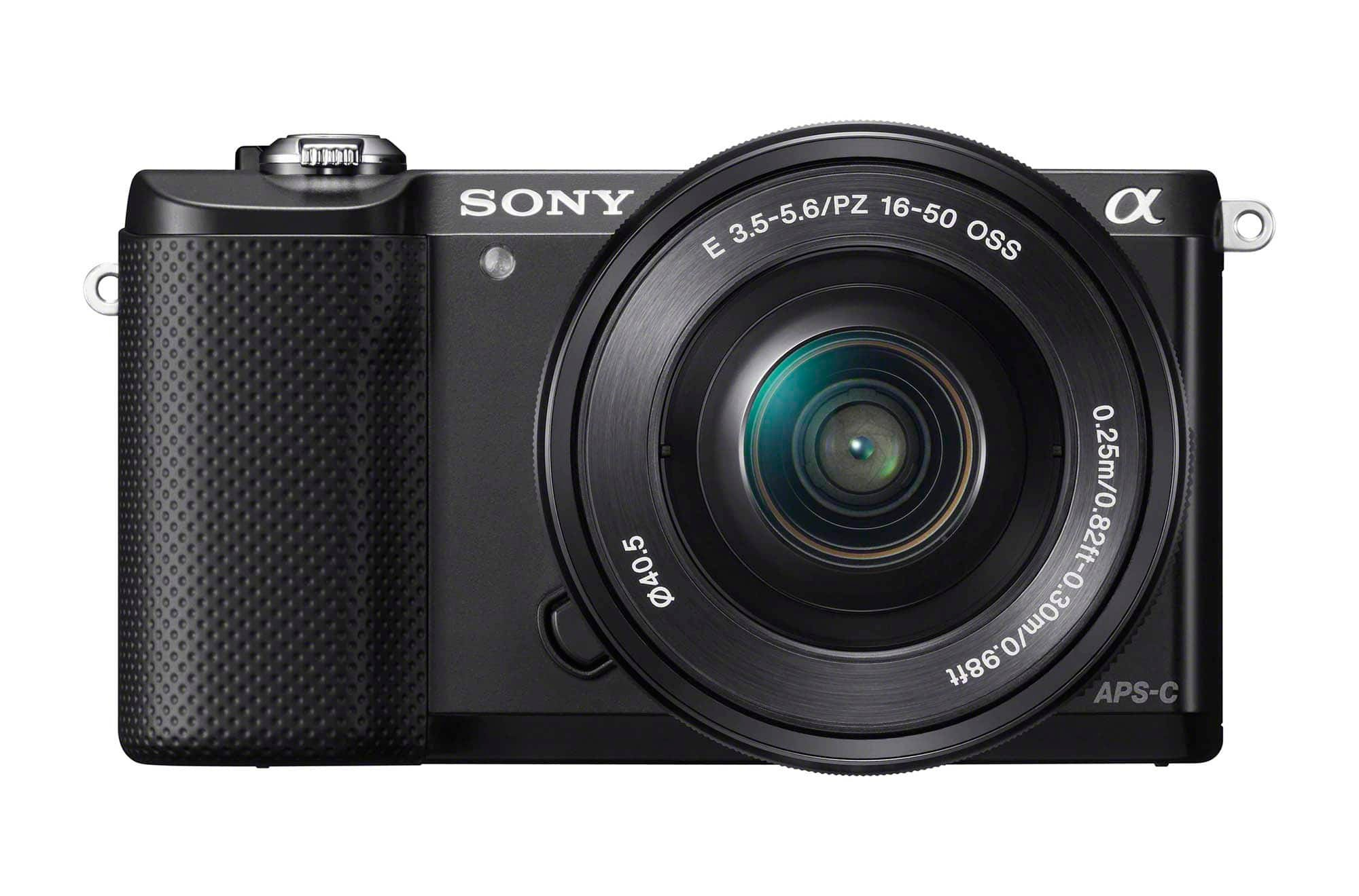 Sony a5000 Front Black